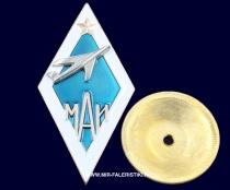 Ромб МАИ (голубой фон)
