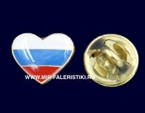 Значок Люблю Россию