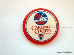 ЗНАК JETS WINNIPEG CARLING O'KEEFE BREWERIES